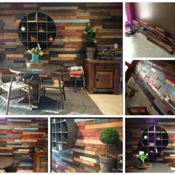 Pallet Wood Wall