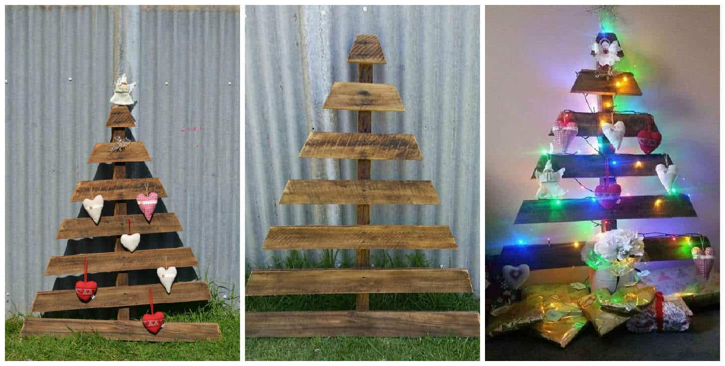 Recycled Pallet Christmas Tree • 1001 Pallets