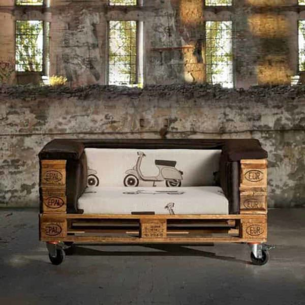 Stylish Pallet Sofa Pallet Sofas
