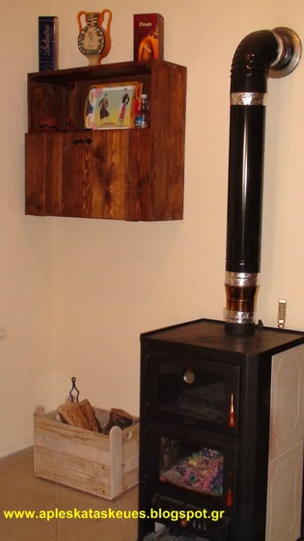 Bar Cabinet From Pallet Wood Pallet Cabinets & Pallet Wardrobes
