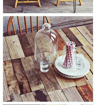 Diy: Upcycled Pallet Into Rustic Kitchen Table