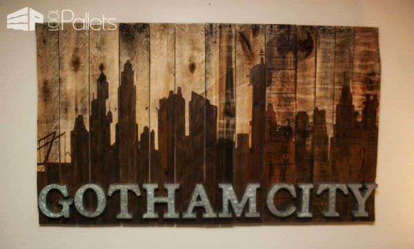 Gotham City Never Looked So Good Pallet Home Accessories