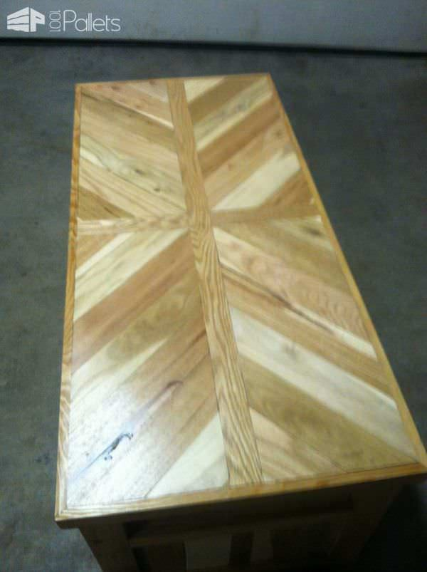 Marquetry Pallet Coffee Table Pallet Coffee Tables