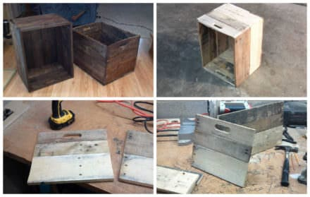 New Old Crates From Pallet Wood