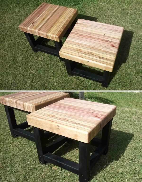 Pallet Bench Seat Pallet Benches, Pallet Chairs & Stools