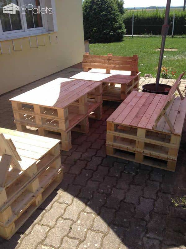 Pallet Garden Furniture Lounges & Garden Sets
