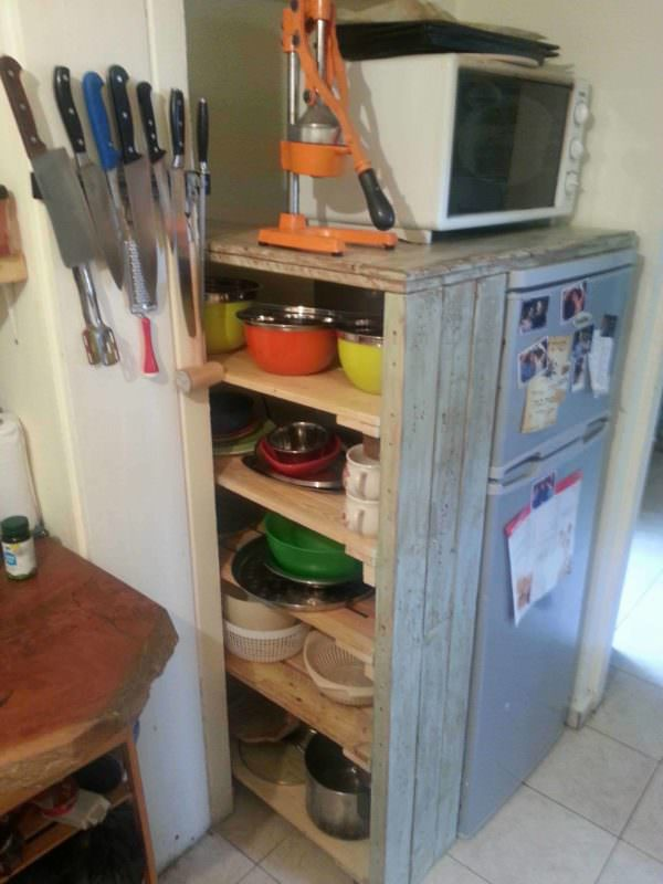 Pallet Kitchen Storage Pallet Cabinets & Wardrobes