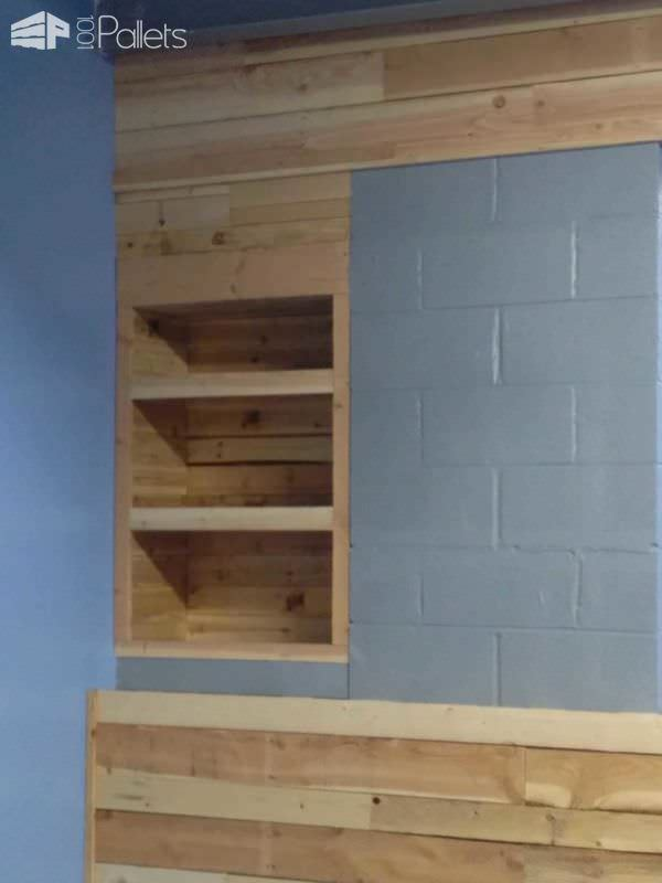 Pallet Wall Covering Pallet Walls & Pallet Doors