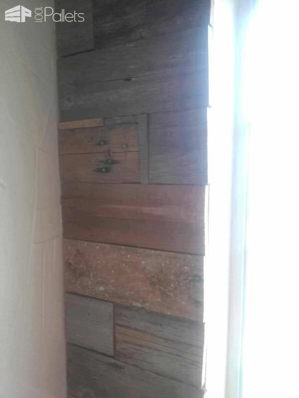 Reclaimed Fence & Pallet Wood Wall Pallet Walls & Pallet Doors