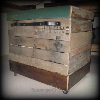 Rolling Storage Bin or Serving Cart
