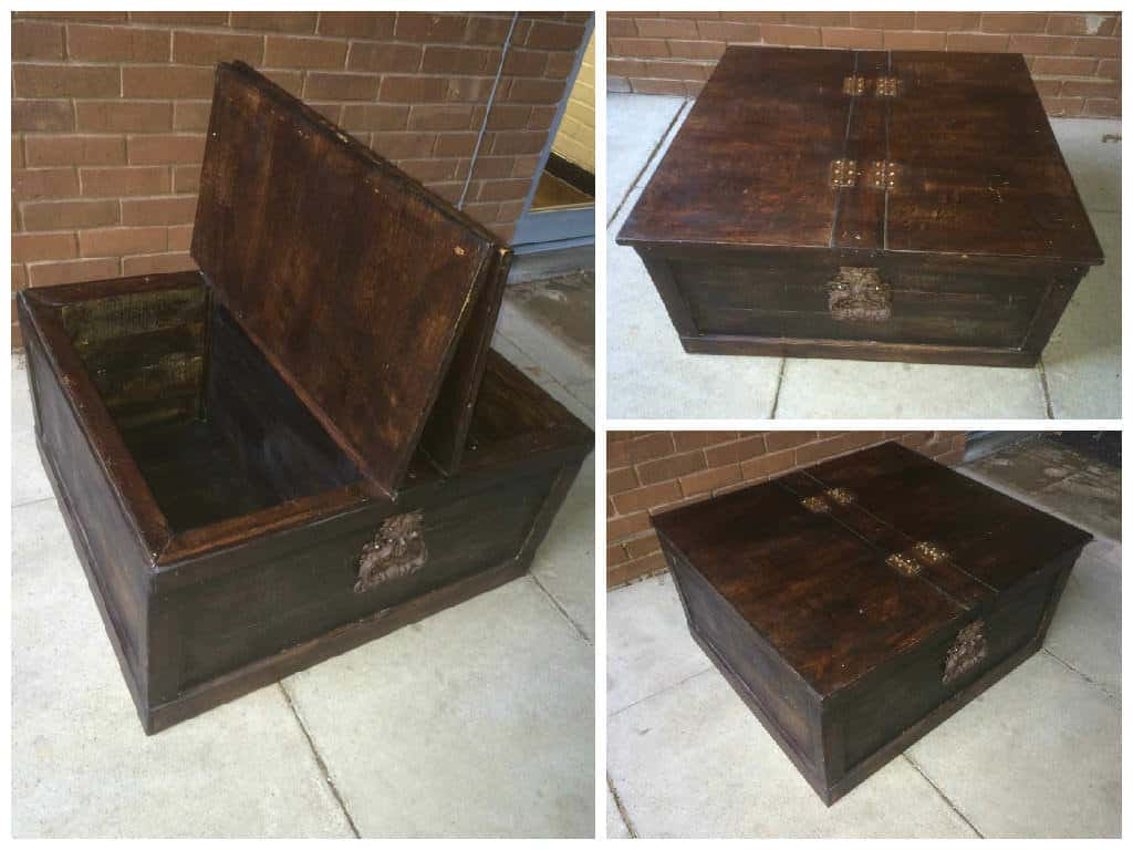 Sheesham Style Storage Chest Coffee Table 1001 Pallets