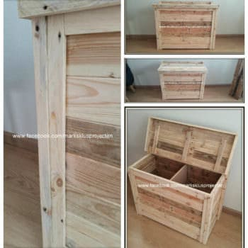 Small Storage Cabinet From Recycled Pallet Wood