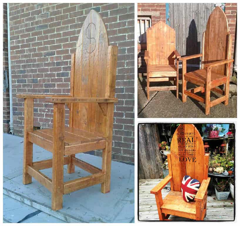 Thrones From Throne Together 1001 Pallets