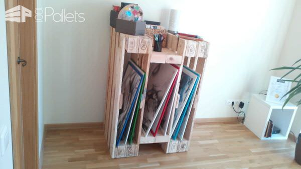 Diy Video: How To Make A Stylish Shelf From 4 Reclaimed Pallets Pallet Shelves & Pallet Coat Hangers