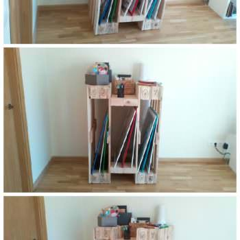 Diy Video: How To Make A Stylish Shelf From 4 Reclaimed Pallets