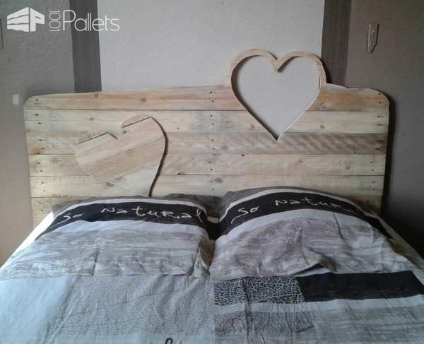 Mes Réalisation En Palettes / My Pallet Works DIY Pallet Bed Headboard & FrameLounges & Garden Sets