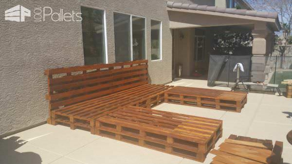 Outdoor Pallet Daybed 1001 Pallets