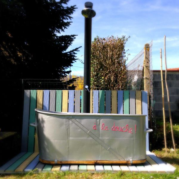 Pallet Garden Summer Shower Lounges & Garden Sets