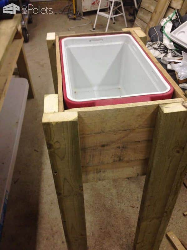 Pallet Ice Chest Pallet Boxes & Chests