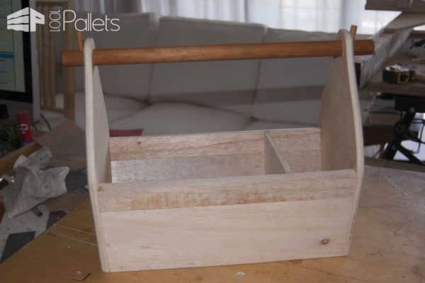 Pallet Lightweight Wood Garden Toolbox Pallet Home Accessories