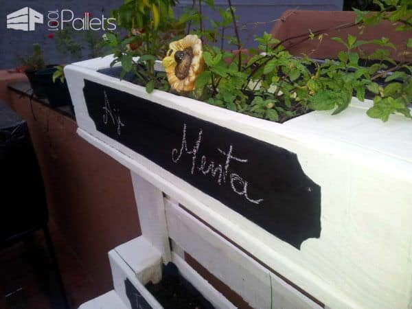 Pallet Outdoor Furniture For Herbs Pallet Planters & Pallet Compost