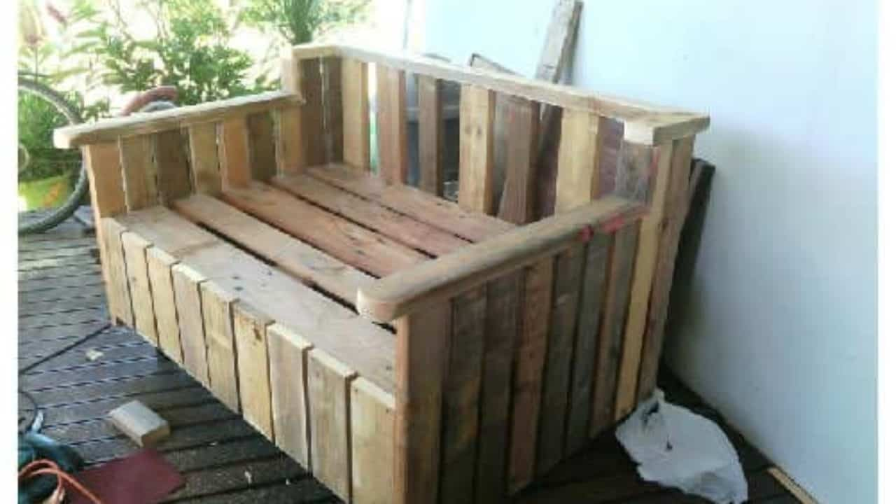 Miraculous Pallet Outdoor Sofa 1001 Pallets Gmtry Best Dining Table And Chair Ideas Images Gmtryco
