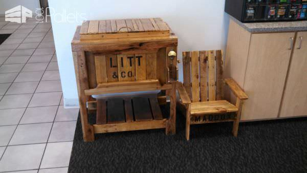 Pallet Wood Coolers Pallet Boxes & Chests