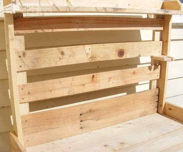 Pallet Wood Potting Bench Pallet Desks & Pallet Tables