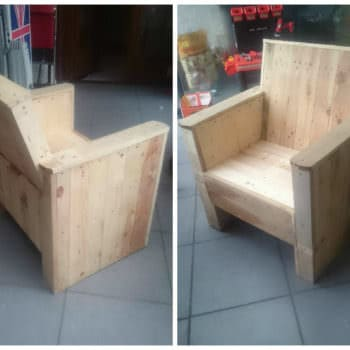 Reclaimed Pallet Armchair