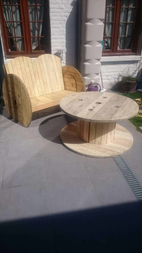 Salon De Jardin / Garden Lounge • 1001 Pallets
