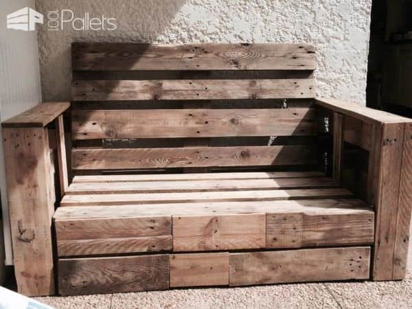 salon de jardin garden pallet lounge 1001 pallets. Black Bedroom Furniture Sets. Home Design Ideas