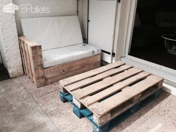 Salon de jardin garden pallet lounge 1001 pallets for Palet jardin salon mesa