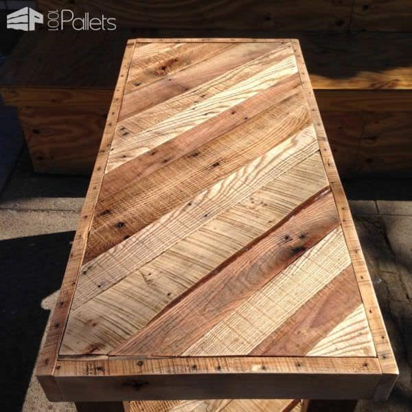 Scrap Pallet Desk Pallet Desks & Pallet Tables