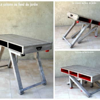 Table Basse En Palettes 2 Pallets Coffee Table 1001