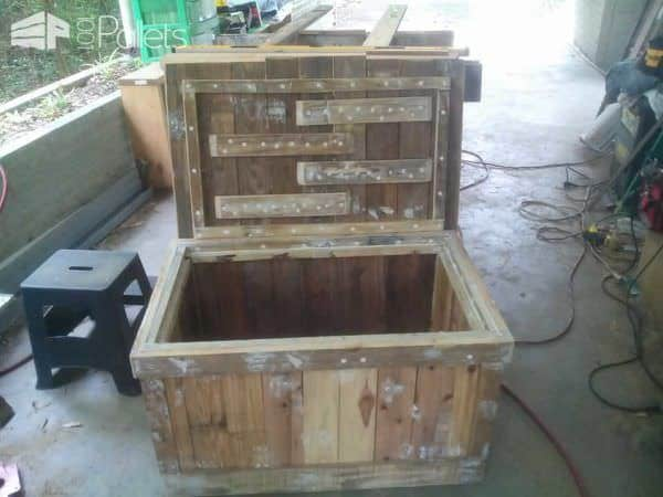 Toy Chest From Repurposed Pallets 1001 Pallets