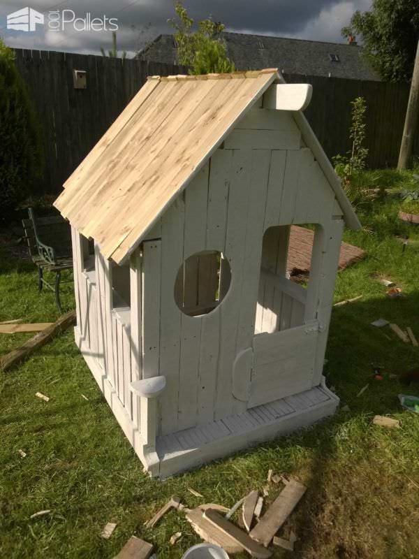 Wendy Pallet House Fun Pallet Crafts for Kids Pallet Sheds, Pallet Cabins, Pallet Huts & Pallet Playhouses