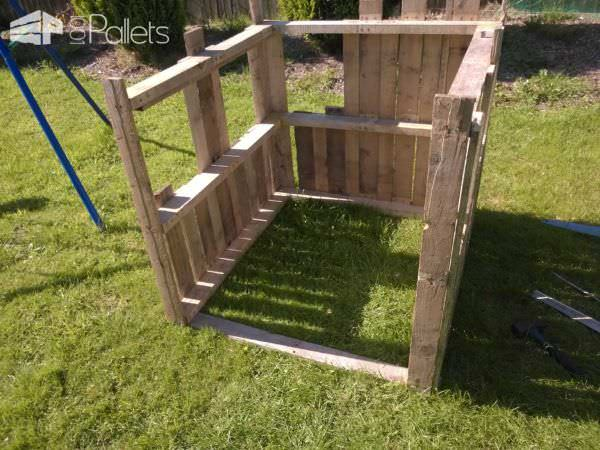 Wendy Pallet House Fun Pallet Crafts for KidsPallet Sheds, Pallet Cabins, Pallet Huts & Pallet Playhouses