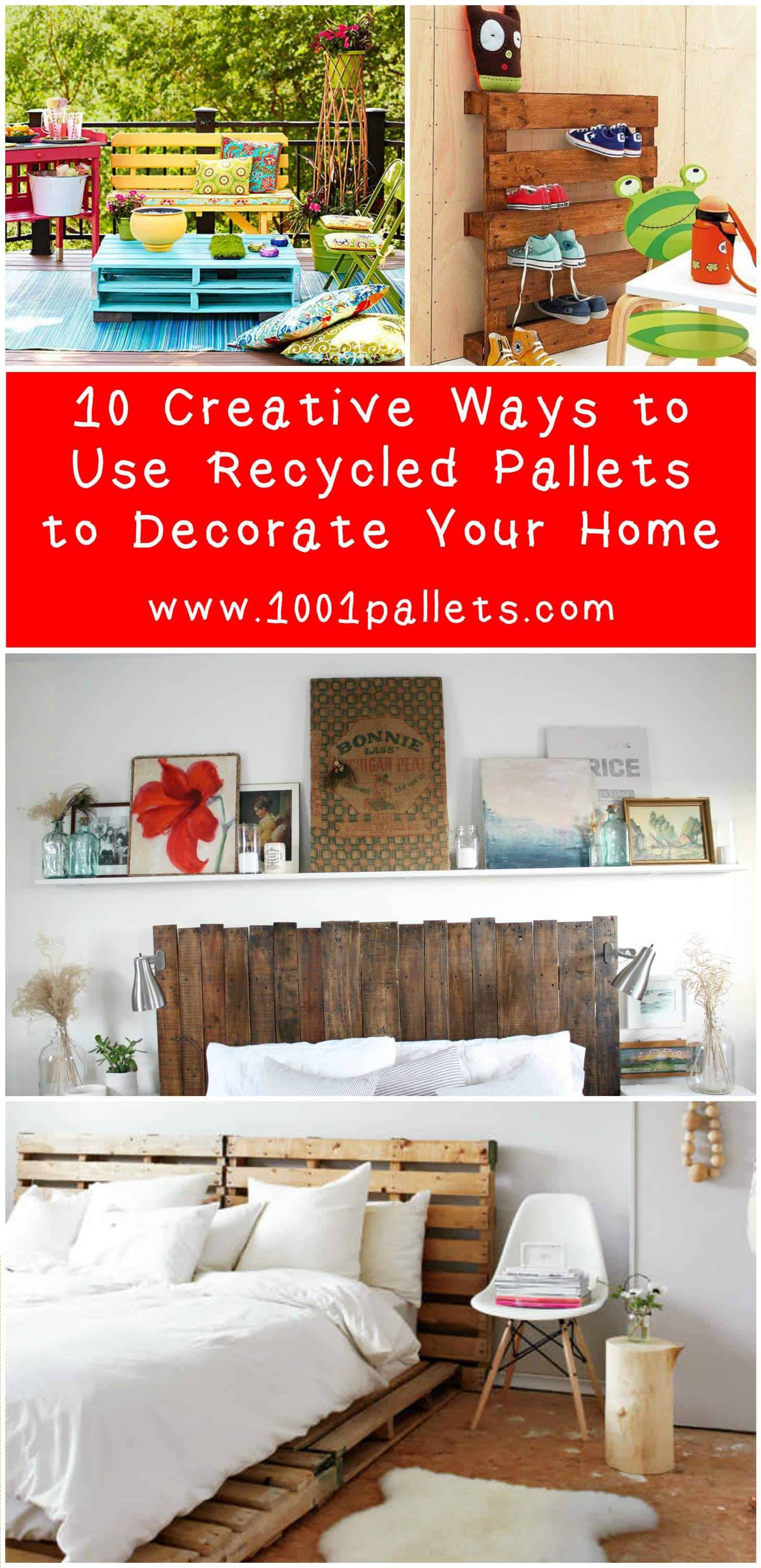 Ways To Read Tarot Cards: 10 Creative Ways To Use Recycled Pallets To Decorate Your