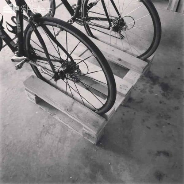 Wooden Pallets as Bike Racks6