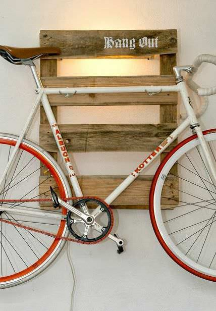 Wooden Pallets as Bike Racks13