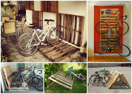 Diy Bike Racks: 14 Ways of Building Your Own Pallet Bike Rack