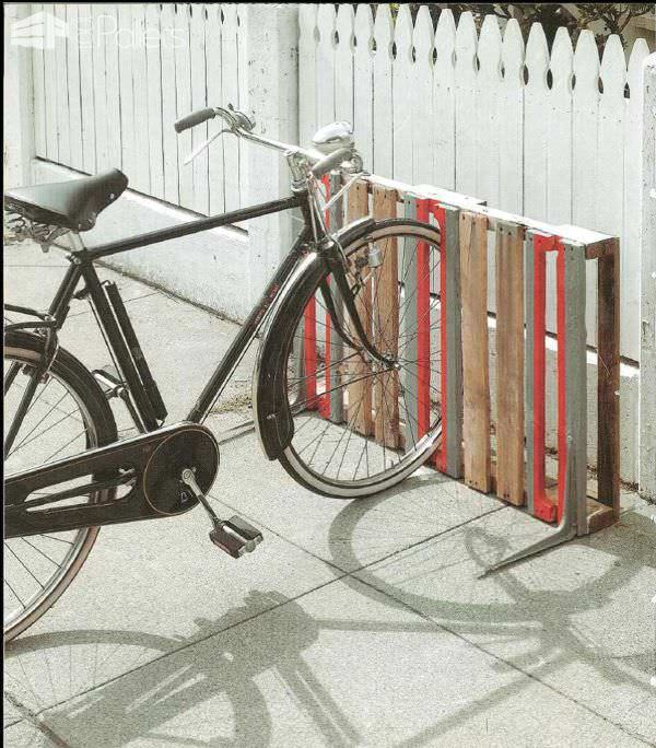 Wooden Pallets as Bike Racks10