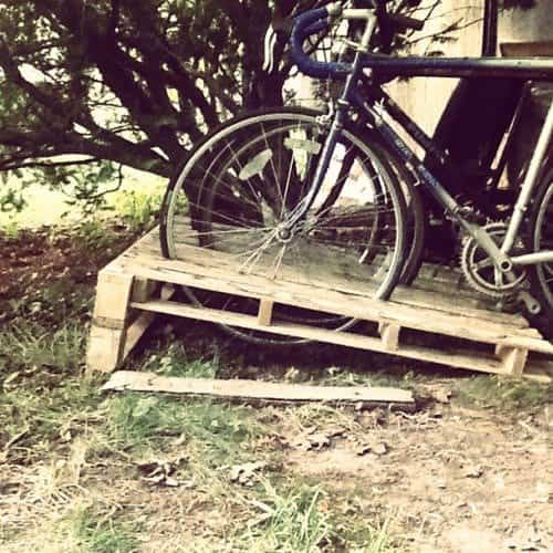 Wooden Pallets as Bike Racks8