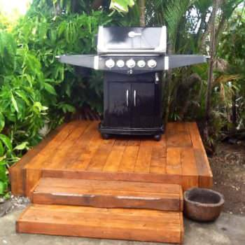 Bbq Platform Made Out Of Pallets