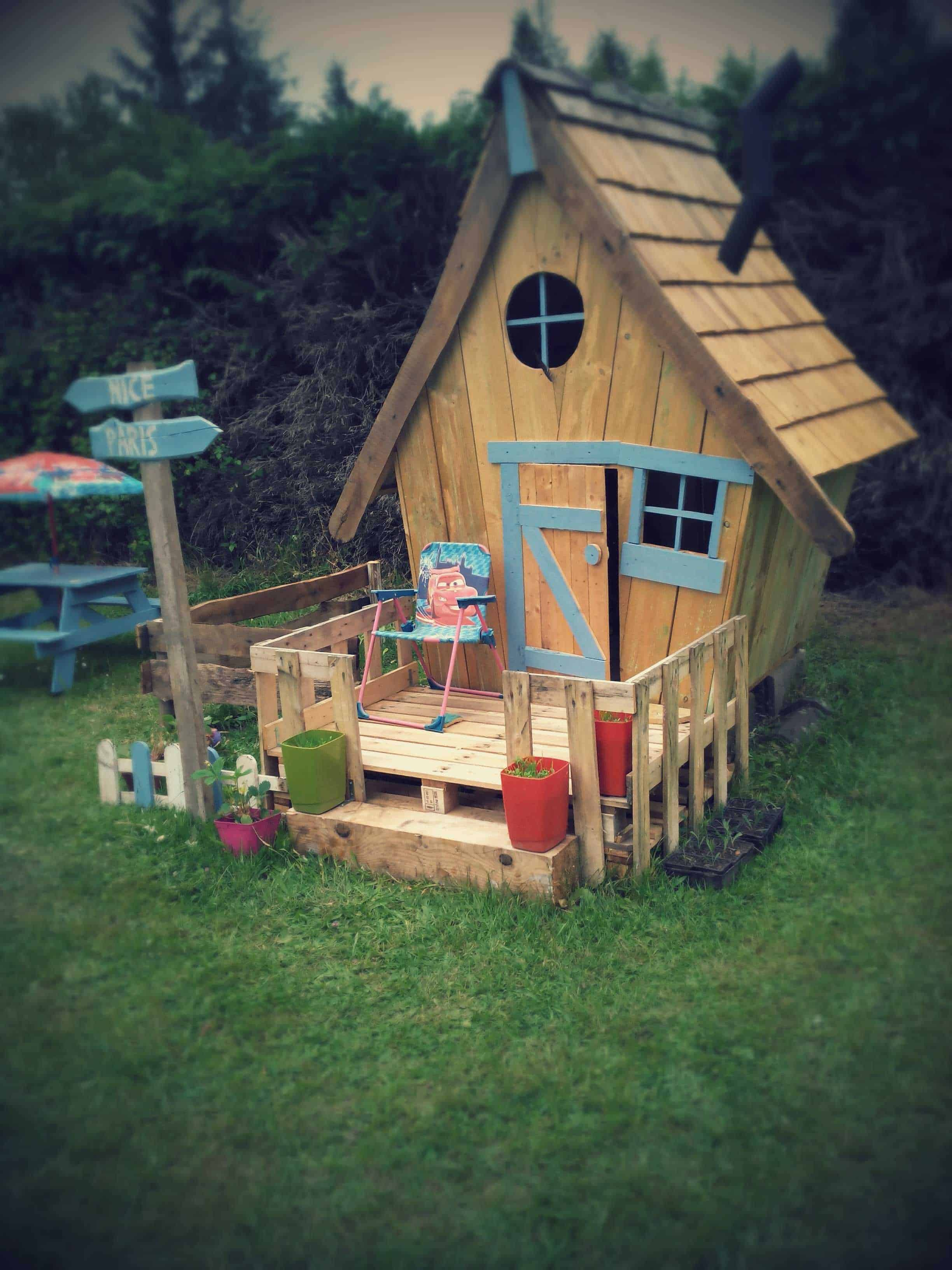 Cabane Enfants Fa 231 On Tim Burton Fairy Tale Kids Pallet