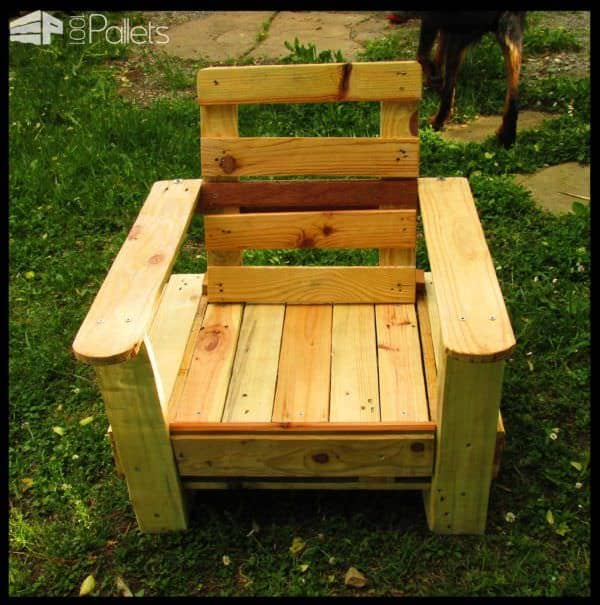 Diverses Créations En Palette / My Pallet Works Lounges & Garden Sets