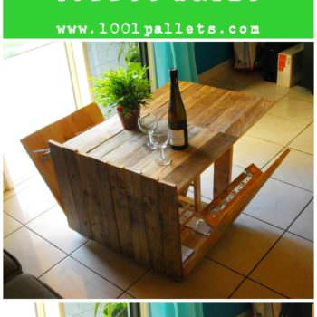 Diy Tutorial: Modular Pallet Coffee Table