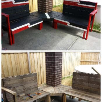 Kiwiana Outdoor Pallet Furniture