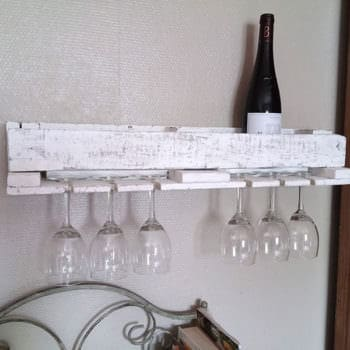 Pallet Bottle Rack And Coat Rack