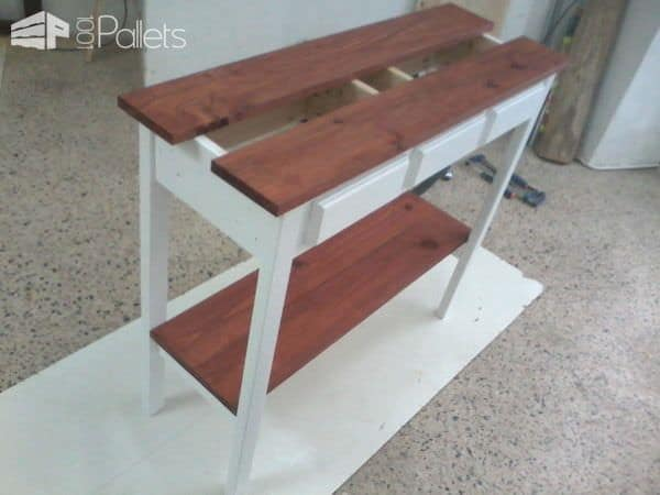 Pallet Entry Table Pallet Desks & Pallet Tables